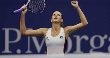 WTA Tianjin: Karolina Pliskova și Caroline Garcia se vor întâlni în finala turneului