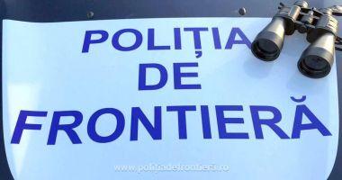 Un alt grup de cetăţeni turci, oprit de poliţiştii de frontieră la graniţa cu Bulgaria