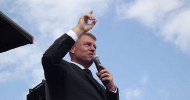 Președintele Klaus Iohannis a sosit la Constanța, în contextul celui mai mare exercițiu naval pe Marea Neagră
