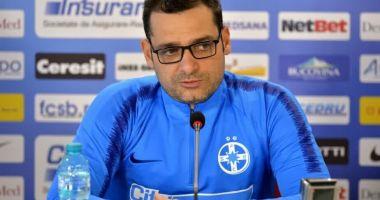Antrenorul Mihai Teja s-a despărțit de FCSB