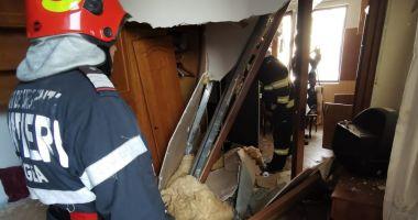 Explozie puternică într-o clădire din Constanța. Sunt două victime