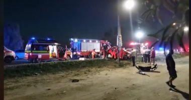 Accident rutier cu două victime încarcerate între Eforie Nord și Eforie Sud