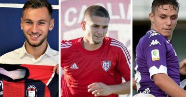 Fotbal / Trei jucători formați la Academia Hagi, la echipe din Serie A