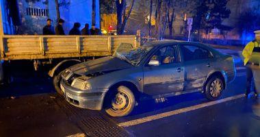 UPDATE / Accident rutier la orele serii! Șoferul, fost adjunct al Poliției Medgidia, era beat la volan!