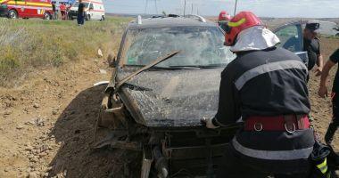 Accident rutier grav, în zona Palazu Mic. Sunt mai multe victime, printre care un bebeluș