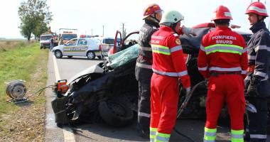ACCIDENT RUTIER GRAV! Un mort și cinci răniți în apropiere de Constanța