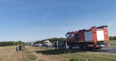 Foto : VIDEO / ACCIDENT MORTAL cu trei victime în județul Constanța
