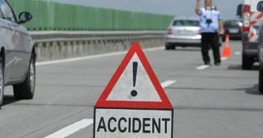 Două accidente, în această dimineață pe A2. Au fost implicate 7 mașini, iar o persoană a fost rănită