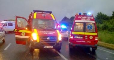 GRAV ACCIDENT RUTIER LA CONSTANȚA / TÂNĂRUL ÎNCARCERAT, MORT LA SPITAL. Șoferul mașinii, BEAT!