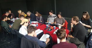 Actorii constănțeni lucrează la o nouă piesă
