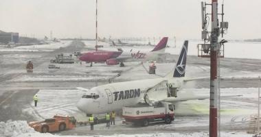 Mai multe zboruri au fost anulate din cauza vremii. Iată ce companii au probleme