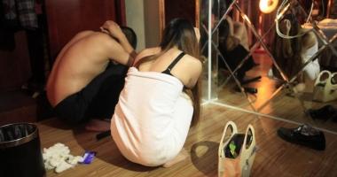 Afacerea prostituția. Droguri și bătăi în