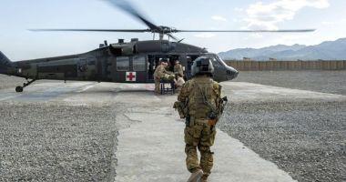 Un elicopter militar din Republica Moldova ar fi fost doborât de o rachetă, în Afganistan