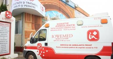 Serviciul de ambulanță și medicină de urgență Iowemed, în regim non-stop
