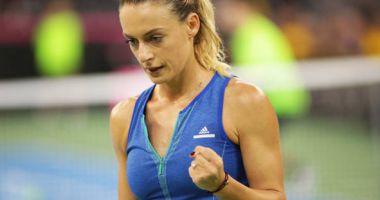 Tenis, WTA Praga: Ana Bogdan s-a retras în primul set al partidei cu Kristyna Pliskova