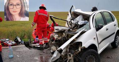Cine este șoferița decedată în accidentul de aseară. Peste câteva zile, ar fi fost ziua ei de naștere…