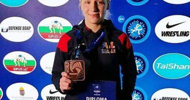 Andreea Beatrice Ana, medaliată cu bronz la Campionatele Mondiale de lupte