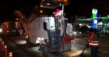 Atenție șoferi! Administrația începe asfaltarea pe bulevardul Tomis