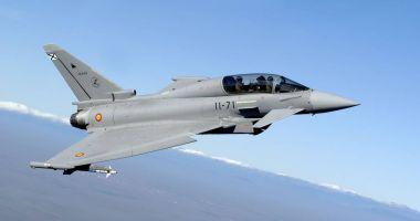 Avioane Eurofighter Typhoon spaniole vor ateriza la baza Mihail Kogălniceanu