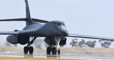 Bombardiere americane de tip B-1B Lancer, misiuni în spațiul aerian al României