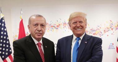 Erdogan și Trump au convenit să colaboreze în lupta împotriva pandemiei de coronavirus