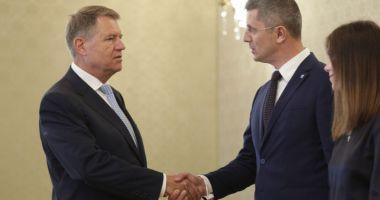 """Dan Barna, întâlnire cu preşedintele Iohannis. """"Nu-l mai vrem pe Cîţu premier"""""""