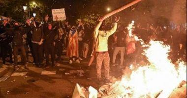 VINEREA NEAGRĂ! Cele mai violente proteste din ultimul deceniu în Catalonia!