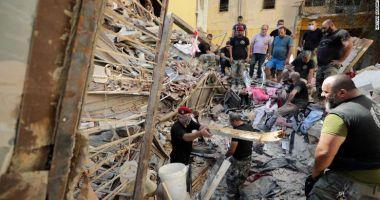 Beirut, un oraș în ruine: Căutări pentru găsirea supraviețuitorilor. Au sosit ajutoare din toată lumea