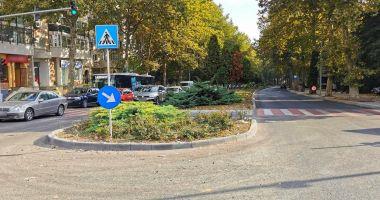 Bulevardul Mamaia este asfaltat. Ce restricții de trafic rutier se vor impune în zonă