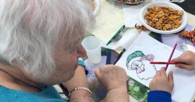 Bunicii și nepoții lor din centrele de plasament, reuniți după vacanță