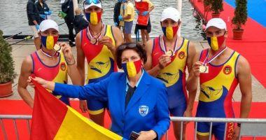 Canotaj / Tricolorii - şapte medalii la Europenele de juniori
