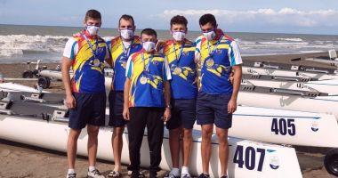 Canotaj / Bronz românesc la 2020 European Coastal Challenge