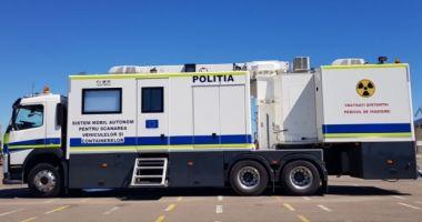 Cargoscan, sistemul mobil de scanare a containerelor și TIR-urilor în Portul Constanța