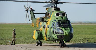 Un elicopter al Forțelor Aeriene Române a fost avariat în Mali