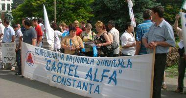 Cartel Alfa organizează acțiuni de protest în fața Prefecturii Constanța