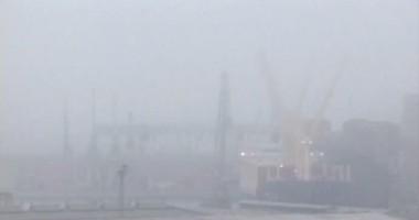CONSTANȚA: Porturile de la Marea Neagră, închise din cauza ceții