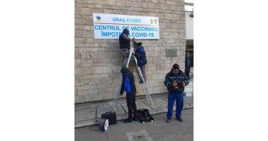 Centrul de vaccinare Eforie, la un pas de funcţionare