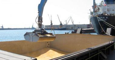 Cerealele și îngrășămintele susțin creșterea traficului de mărfuri din portul Constanța
