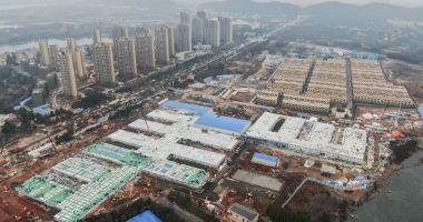 China construiește un spital în 5 zile după o creștere a numărului de cazuri de coronavirus