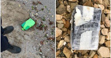 Noi pachete cu droguri au fost găsite pe litoralul Mării Negre, în Bulgaria