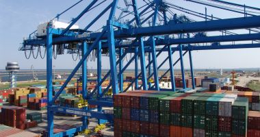 Foto : Conducerea terminalului DP World din portul Constanța a stârnit furia sindicatelor