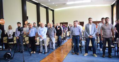 Consilierii județeni, reuniți în ultima ședință a anului 2019