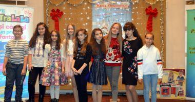 """Copiii talentați  din Cernavodă au obținut 26 de trofee la Festivalul """"Magia Crăciunului"""""""