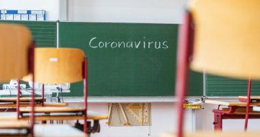 Scenariu roşu în mai multe şcoli din judeţ. Cursurile, mutate în online