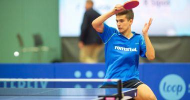 Cristian Pletea participă la Openul Poloniei la tenis de masă