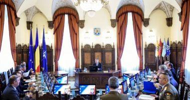 Consiliul Suprem de Apărare a Țării, miercuri, la Palatul Cotroceni