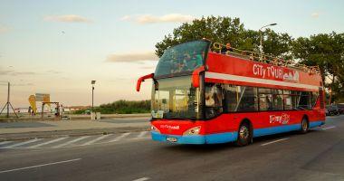 CT BUS. Autobuzele etajate ies pe traseu din week-end