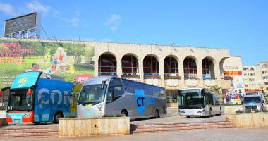 Noile modele de autobuze ale CT BUS, expuse la Casa de Cultură