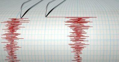 Cutremur cu magnitudinea de 3,8 în Vrancea