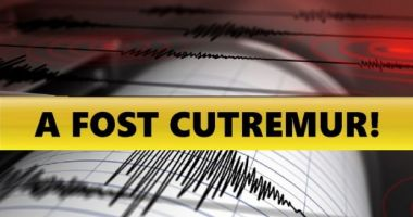 Cutremur în România, în ziua alegerilor prezidențiale